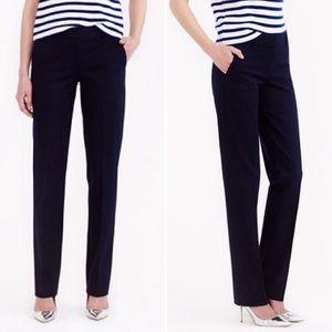 J. Crew • Navy Bristol Trouser Favorite Fit